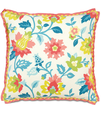 Eastern Accents - Arcadia Pillow With Ribbon - ARC-07