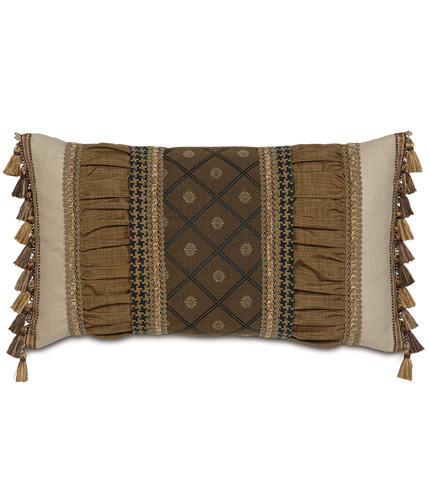 Eastern Accents - Bothwell Harvest Ruched Insert Pillow - AST-08