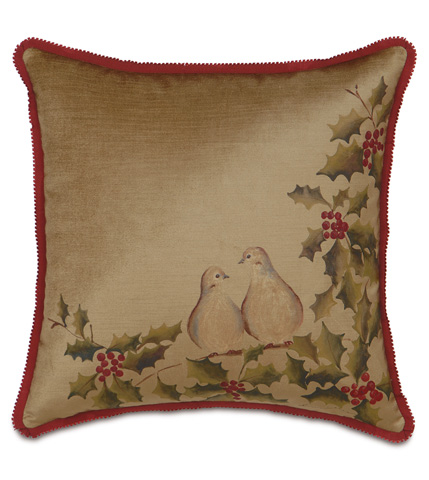 Eastern Accents - Two Turtle Doves Pillow - ATE-197