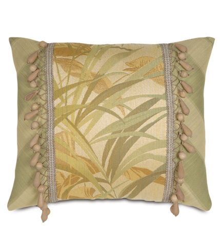 Eastern Accents - Antigua Insert Pillow with Beaded Trim - ATG-02