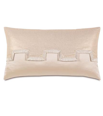 Eastern Accents - Marilyn Chamois Pillow With Reflection Flap - BAD-04