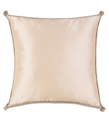 Eastern Accents - Marilyn Chamois Pillow With Turkish Knots - BAD-07