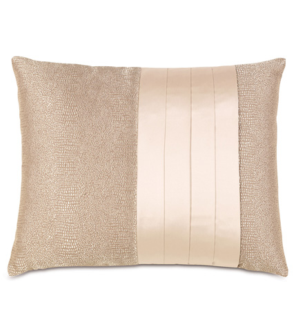 Eastern Accents - Dunaway Fawn Pillow With Pleats - BAD-10