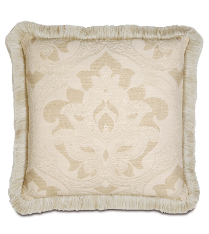 Eastern Accents - Brookfield Pillow with Brush Fringe - BKF-07