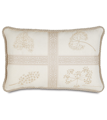 Eastern Accents - Hand-Painted Brookfield  Pillow with Cord - BKF-10