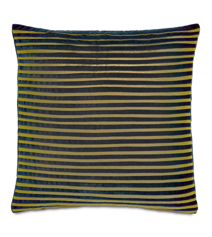 Eastern Accents - Jackson Charcoal Pillow with Pleats - CAL-05