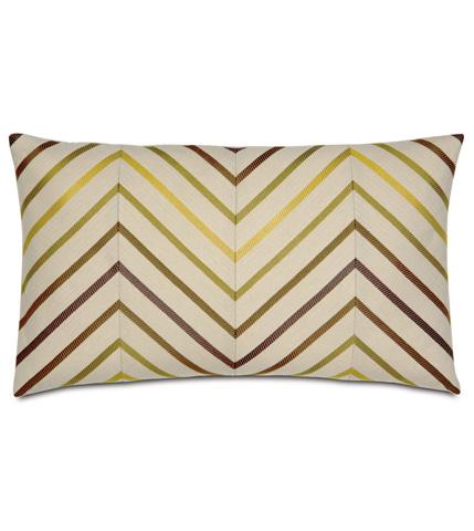 Eastern Accents - Austin Citron Diagonal Inserts Pillow - CAL-08