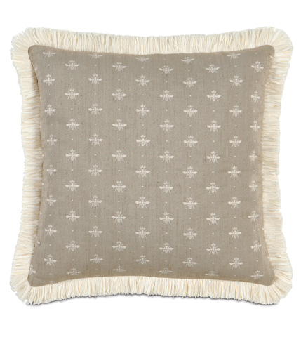 Eastern Accents - Daphne Pillow with Brush Fringe - DAP-03