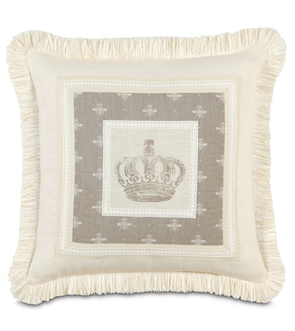 Eastern Accents - Daphne Border Collage Pillow - DAP-09