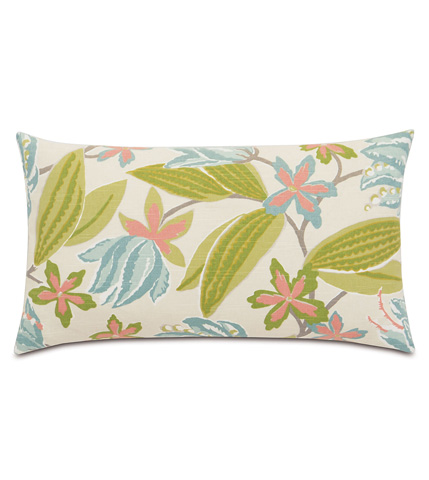 Eastern Accents - Lavinia Paradise Knife Edge Pillow - DPB-389