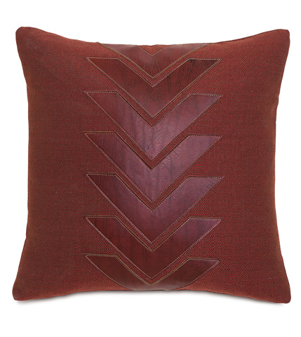 Eastern Accents - Walden Berry Pillow with Graphic Applique - DPE-361-I