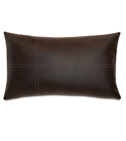 Eastern Accents - Hoffman Walnut Pillow with Tailors Tack - DPG-361-O