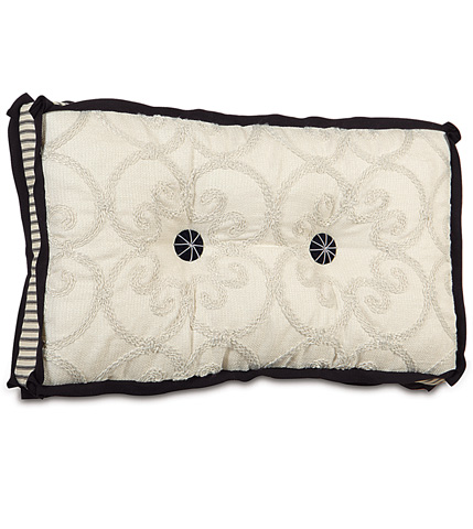 Eastern Accents - Desiree Pearl Tufted Pillow - EVY-10