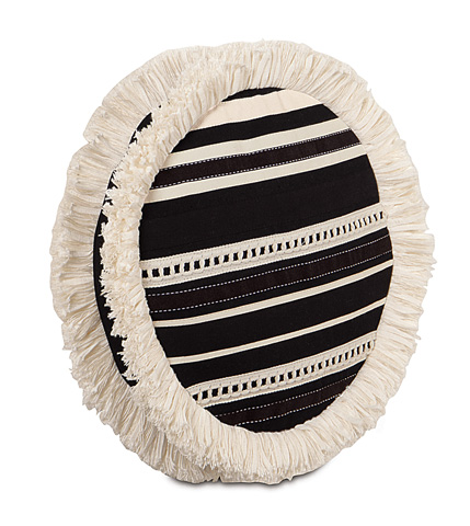 Eastern Accents - Fullerton Ink Tambourine Pillow - EVY-12