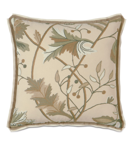 Eastern Accents - Gallagher Pillow with Double Flange - GLG-03