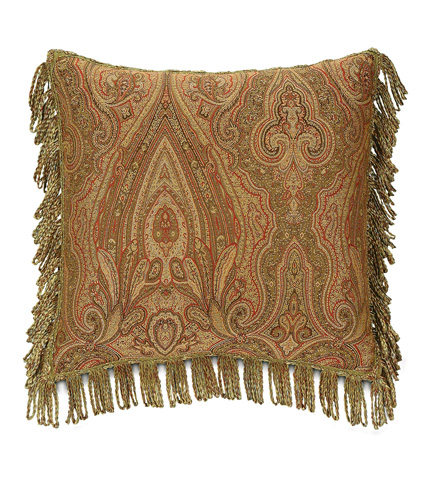 Eastern Accents - Glenwood Pillow with Bullion - GLN-05