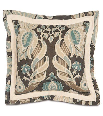 Eastern Accents - Kira Pillow with Double Flange - KIR-02