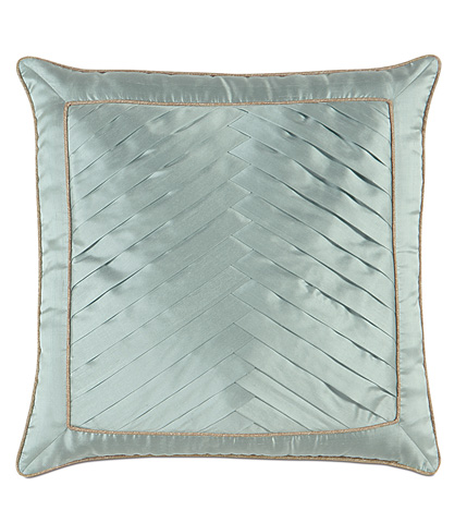 Eastern Accents - Serico Ocean Pillow with Pleats - KNE-09