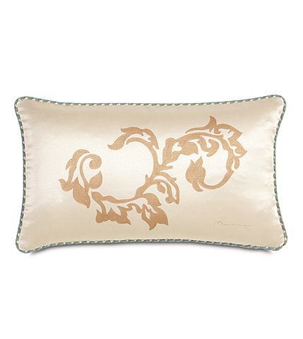 Eastern Accents - Witcoff Ivory Hand-Painted Pillow - KNE-12