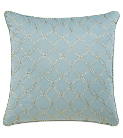 Eastern Accents - Latcherie Sky Pillow with Cord - MAG-01