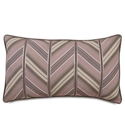 Eastern Accents - Caffrey Mauve Diagonal Insert Pillow - MCA-04