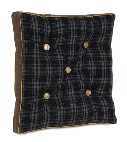 Eastern Accents - Grainger Ink Boxed and Tufted Pillow - MCL-07