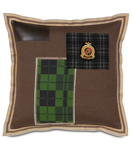 Eastern Accents - Maccallum Patchwork Pillow - MCL-09