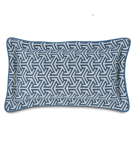 Eastern Accents - Mondrian Water Pillow with Flange - MND-161-06