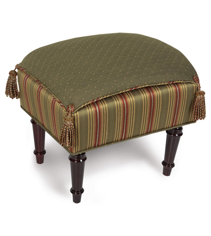 Eastern Accents - Quentin Olive Pillow Top Stool - OTP-130