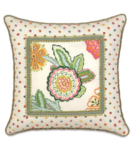 Eastern Accents - Portia Mitered Pillow - PTI-03