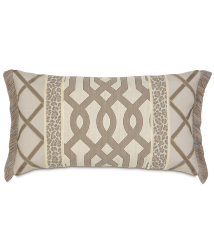 Eastern Accents - Rayland Insert Pillow with Brush Fringe - RAY-04