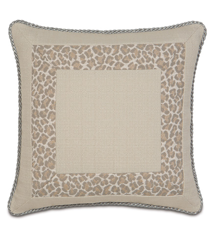 Eastern Accents - Vivo Bisque Border Collage Pillow - RAY-07