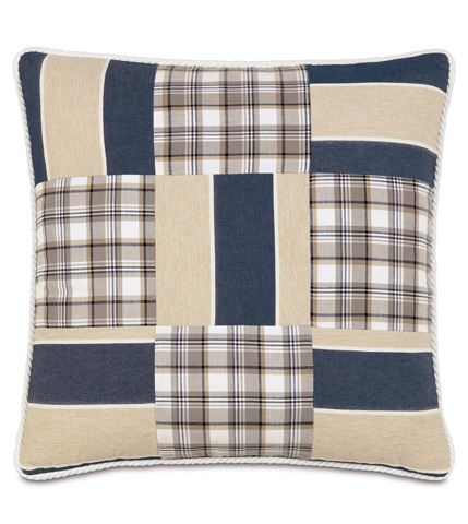 Eastern Accents - Ryder Patchwork Pillow - RYD-03