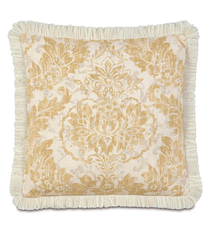 Eastern Accents - Sabelle Pillow with Brush Fringe - SAB-09