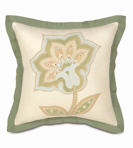 Eastern Accents - Hand-Painted Southport Pillow - STH-12