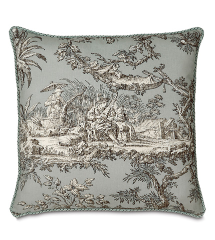 Eastern Accents - Vera Pillow with Cord - VRA-03