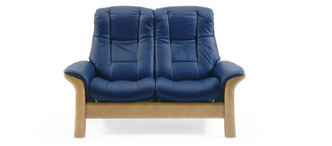 Ekornes - Windsor Highback Loveseat - 1195020