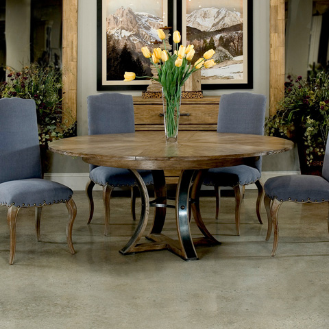 Encore - Tower Jupe Dining Table - 78-136