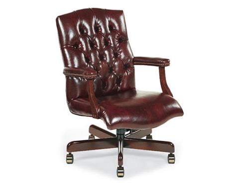 Fairfield Chair Co. - Tufted Back Swivel Office Chair - 1059-35