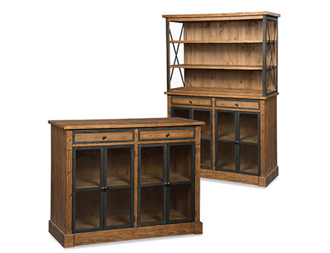 Fairfield Chair Co. - Low Bookcase - 8104-45