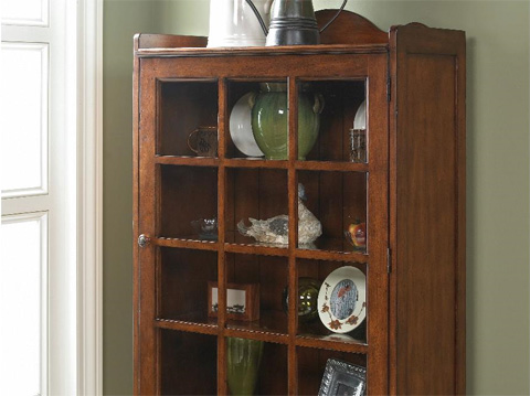 Fine Furniture Design - Accent Cabinet with Glass Door - 1050-995