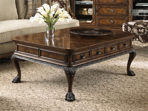 Fine Furniture Design - Belvedere Cocktail Table with Two Drawers - 1150-910