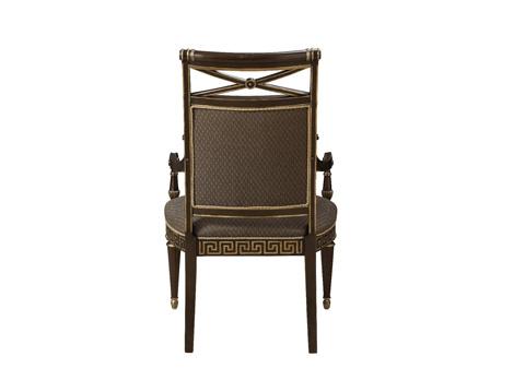 Fine Furniture Design - Upholstered Back Arm Chair - 1152-827