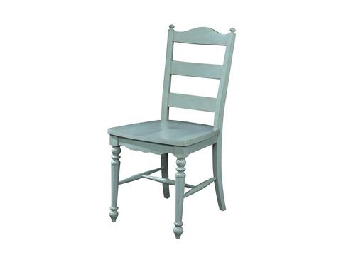 Fine Furniture Design - LadderBack Side Chair - 1053-826