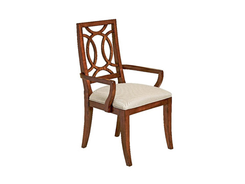 Fine Furniture Design - Wood Dining Arm Chair - 1360-821