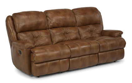 Flexsteel - Cruise Control Leather Double Reclining Sofa - 1226-62