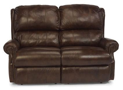 Flexsteel - Comfort Zone Leather Double Reclining Loveseat - 1227-60