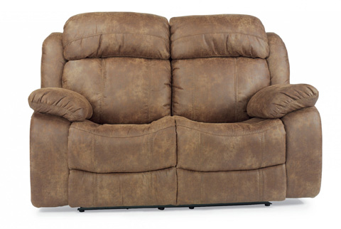 Flexsteel - Como NuvoLeather Power Reclining Loveseat - 1408-60P