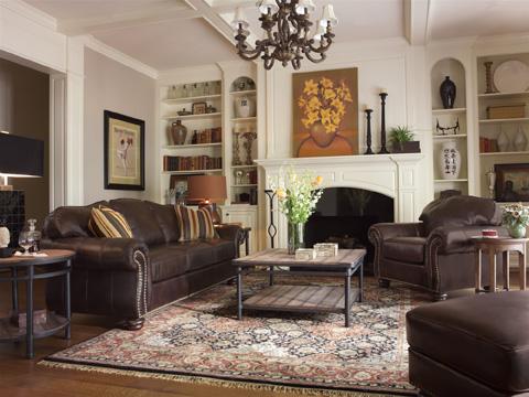Flexsteel - Bexley Sofa with Nails - 3648-31