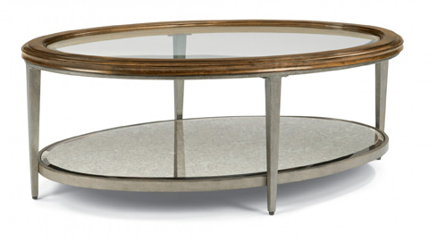 Flexsteel - Patina Oval Cocktail Table - 6727-033